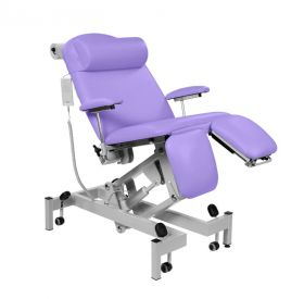 Fusion Treatment Chair - Powered Head ?Section & Powered Tilting Seat Sun-FTRTE6-Lilac