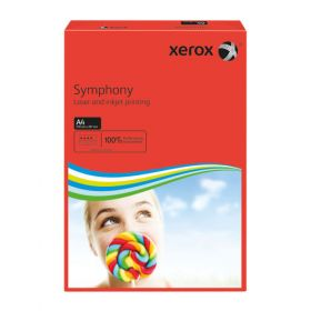 XEROX SYMPHONY A4 80GSM DRK RED P500