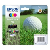 EPSON 34 INK CARTRIDGES 4 COLOUR
