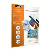 FELLOWES EASYFLD LAMNTE PCH A4 PK25