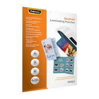FELLOWES EASYFLD LAMNTE PCH A3 PK25