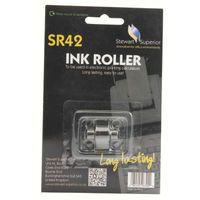 INK ROLLER CALCULATOR IR40T RD/BLK S
