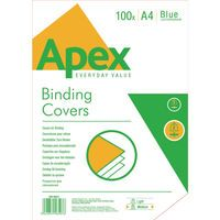 FELLOWES APEX LEATHERBOARD COVER BL