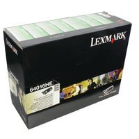 LEXMARK T64X 21K H/YLD LASER TNR BLK