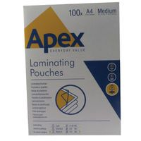 FELLOWES APEX LAM POUCH A4 MED DUTY