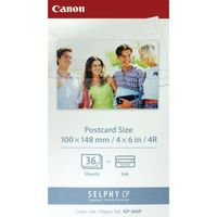 CANON INK POSTCARD PAPER SET 4X6IN