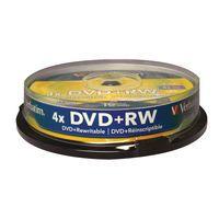 VERBATIM DVD PLUS RW NON PRINT 10