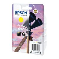 EPSON 502 INK YELLOW CARTRIDGE