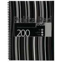 PUKKA A4 JOTTA POLY COVER BLACK
