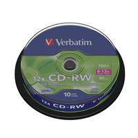 VERBATIM DATALIFE PLUS CDRW 8-12X