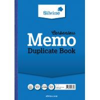 SILVINE CARBONLESS DUPE MEMO BOOK
