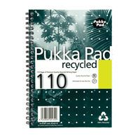 PUKKA RECYCLED WIRE PAD A5 PK3