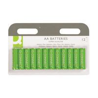 Q-CONNECT BATTERY AA PK12