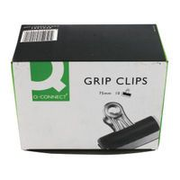 Q-CONNECT GRIP CLIP 75MM PK10