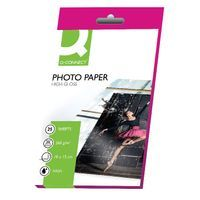 Q-CONNECT PHOTO PAPER HIGH GLOSS P25