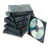 Q-CONNECT CD JEWEL CASE SLIM BLK P25