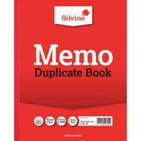 SILVINE DUPLICATE BOOK MEMO