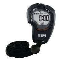 ACCTIM OLYMPUS STOPWATCH BLACK