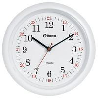 BANNER 24 HOUR WALL CLOCK 225MM