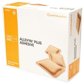 Allevyn Plus Adhesive Wound Dressing 12.5cm x 12.5cm [Pack of 10]