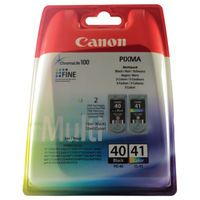 CANON PG40/CL41 MULTIPACK1 OF EACH