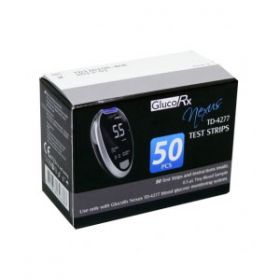 GlucoRx Nexus Glucose Test Strips X Pack of 50