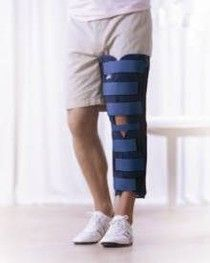 Actimove Genu Tri-Panel Knee Immobiliser 50cm Small A1 [Pack of 1]
