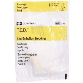 T.E.D. 7339 Knee Length Anti-Embolism Stockings Small, X-Long