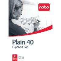 NOBO FLIPCHART PADS A1 PLAIN PACK 5