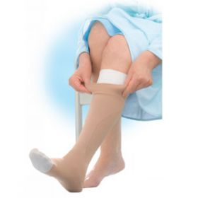 Jobst UlcerCare Compression Stocking Liners Beige Small