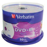 VERBATIM DVD+R 16X 4.7GB SPINDLE 50