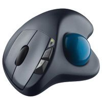 LOGITECH WIRELESS TRACKBALL M570 BLK