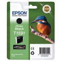 EPSON T1591 BLACK PHOTO INK CART