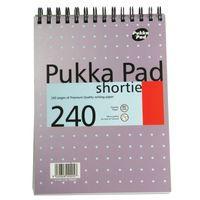 PUKKA WREBND NOTEBK 240PG PURPLE PK3