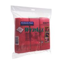 WYPALL MICROFIBRE CLOTH RED PK6 8397