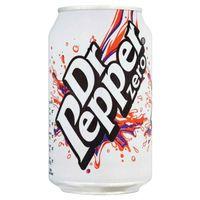 DR PEPPER ZERO CANS PK24