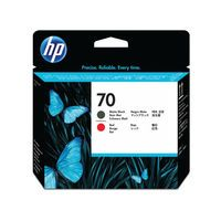 HP 70 PRINTHEAD TWIN BLACK RED