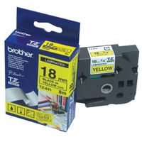BROTHER TZ641 18MM BLACKYELLOW TAPE