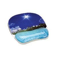 FELLOWES PHOTO GEL MOUSEPAD BEACH