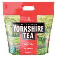 YORKSHIRE TEA TEA BAGS PACK OF 600