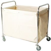 LINEN TRUCK WITH BAG SILVER 356926