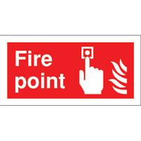 SIGNSLAB 100X200 FIRE POINT S/A