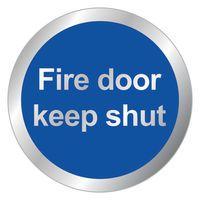 SIGNSLAB  FIRE DOOR KEEP SHUT
