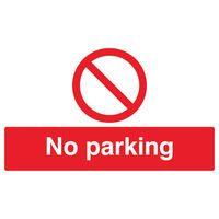 SIGNSLAB NO PARKING PVC ML01929R