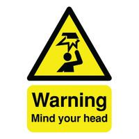 SIGNSLAB A5 MIND YOUR HEAD S/A