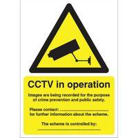 SIGNSLAB A5 DPA COMPLIANT CCTV S/A