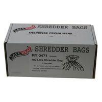 SAFEWRAP SHREDDER BAGS 100 LTRE PK50