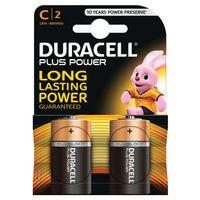 DURACELL C PLUS 2PACK COPPER/BLK