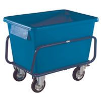 CONTAINER TRUCK 1040X700X860MM BLU