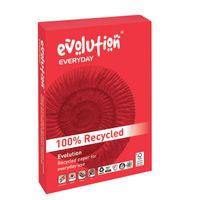 EVOLUTION E/DAY A4 75GSM PK2500 WHT